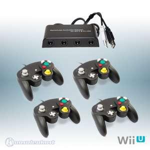 GameCube Adapter + 4 GameCube Controller