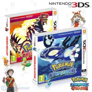 Pokemon Bundle: Alpha Sapphire + Omega Ruby