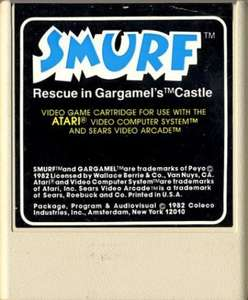 Smurf: Rescue in Gargamel's Castle #Textlabel