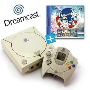 Konsole + Sonic Adventure + Original Controller + Zubehör