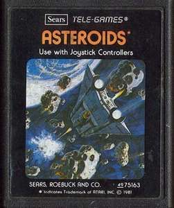Asteroids #Blacklabel [Sears / Tele-Games]