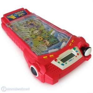 Pokemon Thundershock Challenge Pinball LED Game Tabletop / Flipper [Tiger Electronics]
