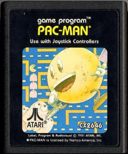 Atari 2600 - Pac-Man #Blacklabel V1