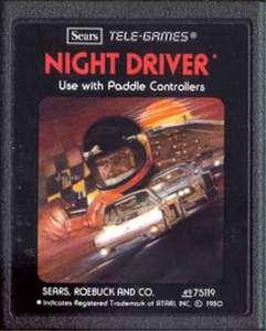 Night Driver #Picturelabel [Sears / Tele-Games] SELTEN!
