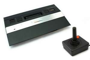 Konsole CX-2600 Jr. + Joystick + Zubehör