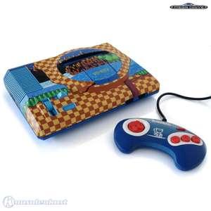 Konsole MD1 #Custom Design Sonic + Original Controller + Zubehör