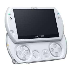 Konsole PSP GO #weiß / Pearl White + Netzteil