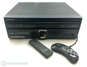 Konsole Pioneer LaserActive Laserdisc + PAC-S10 Unit + Original Controller + Zub