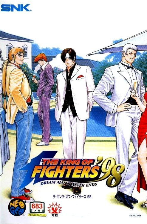 Neo Geo AES - King of Fighters \'98 - 683 Megs