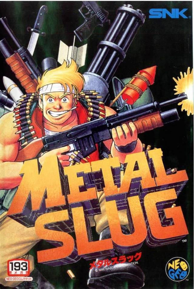 Metal Slug 1 - 193 Megs
