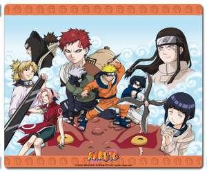 Naruto Mousepad / Mauspad: Ninja Gruppe