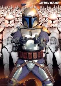Star Wars Poster: Jango Fett Army / 98x68cm