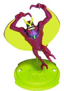 Ben 10 Alien Force Mini Figure Collection Figur: Jet Ray