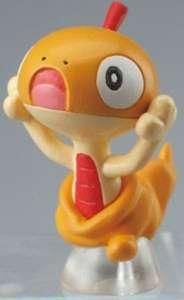 Pokemon Clipping Figure Movies Mini Figur: Zurrokex / Scraggy
