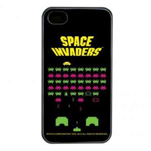 iPhone 4 / 4S Hülle: Space Invaders