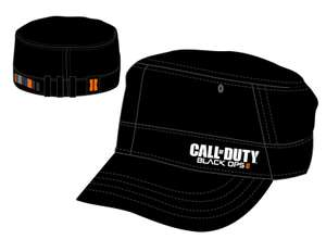 Call of Duty: Black Ops II Cadet Schirmmütze / Military Cap: Logo #schwarz