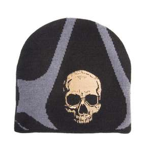 Assassin's Creed IV: Black Flag Mütze / Beanie: Skull Embroidery & Logo #schwarz