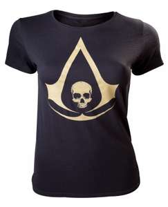Girlie Shirt - Assassin's Creed IV Black Flag Crest Logo