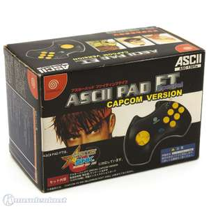 Controller ASCII Fighting Pad FT #grau
