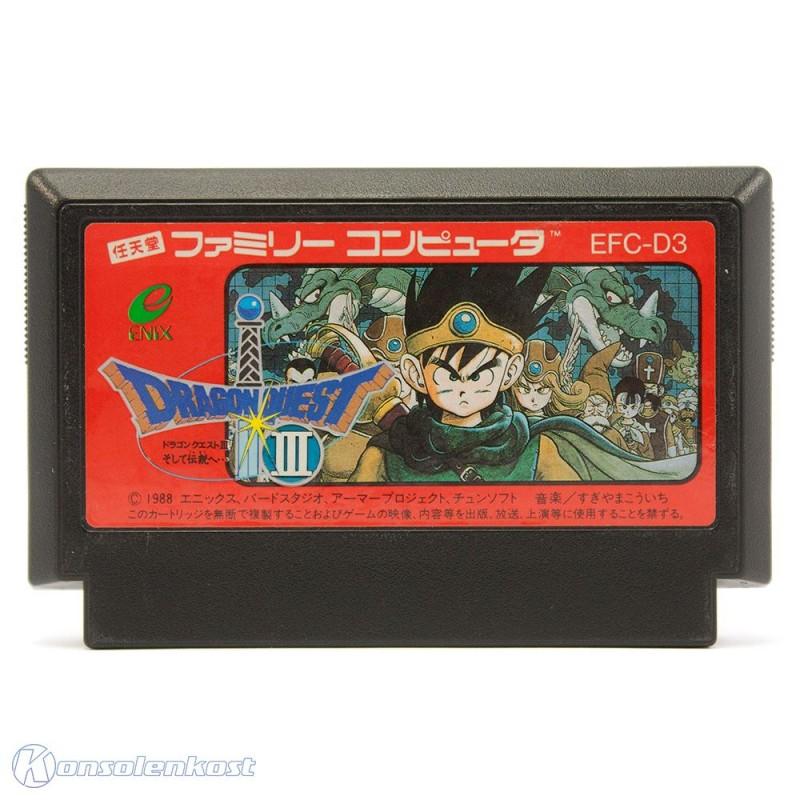 NES / Famicom - Dragon Quest III: Soshite Densetsu e...