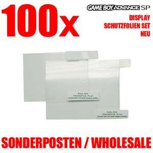 100x Advance + SP Display Schutzfolien Set