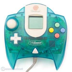 Original Controller #blau-transp. + VMU Millenium 2000 Edition