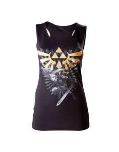 Girlie Tank Top - Zelda #schwarz