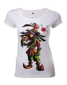 Girlie Shirt - Zelda Majoras Mask Skullkid