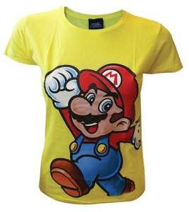 Girlie Shirt - Super Mario #gelb