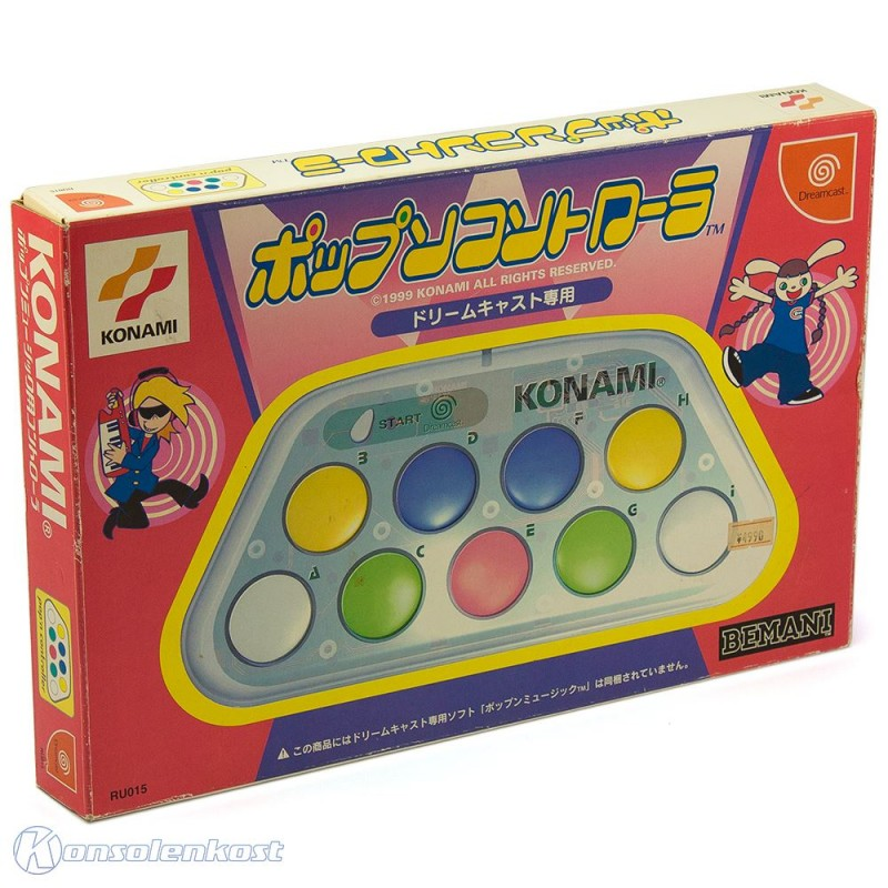 Controller Pop'n Music Edition [Konami]