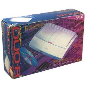 Konsole PC Engine Duo R + Original Controller + Zubehör