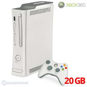 Konsole Premium 20GB #weiß 203W + Original Controller + Zubehör