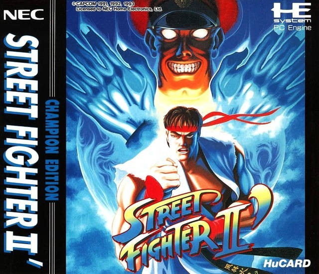 PC Engine / TurboGrafX 16 - Street Fighter II Champion Edition