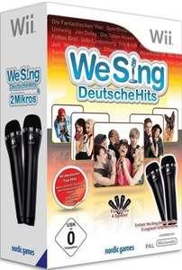 We Sing: Deutsche Hits 1 + 2 Mikrofone