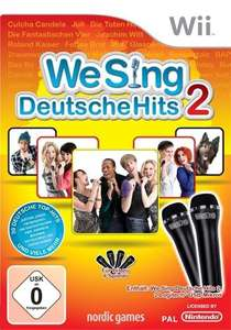 We Sing: Deutsche Hits 2 + 2 Mikrofone