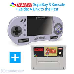 SupaBoy S Portable Handheld + Zelda: A Link to the Past