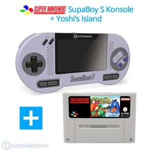 SupaBoy S Portable Handheld + Yoshi's Island