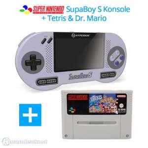 SupaBoy S Portable Handheld + Tetris + Dr. Mario