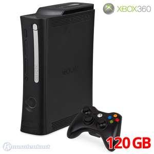 Konsole Elite 120GB #schwarz + Original Controller + Zubehör