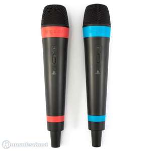 2 Original Wireless SingStar Mikrofone + Empfänger