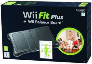 Wii Fit Plus + Original Balance Board #schwarz
