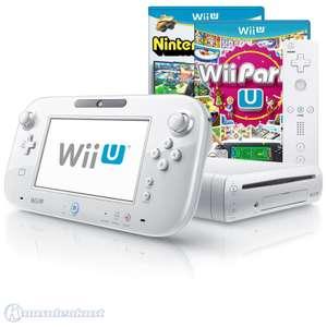 Konsole 8 GB #weiß + Wii Party U + Nintendo Land + Tablet + Original Remote Plus + Zubehör