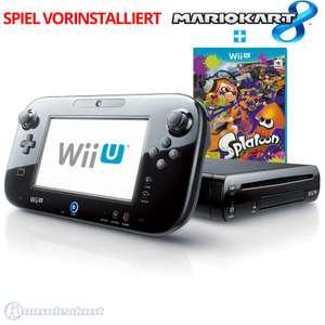 Konsole 32 GB #schwarz + Splatoon + Mario Kart 8 vorinstalliert + Tablet + Zubehör