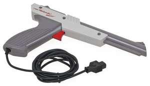 Original Zapper Lightgun #grau [Nintendo]