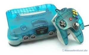 Konsole #Clear Blue-White + Original Controller + Zubehör