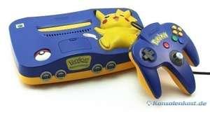Konsole #Pikachu Edition + Original Controller + Zubehör