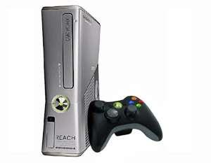 Konsole Slim 250GB #Halo Reach Edition + Original Controller #schwarz + Zubehör