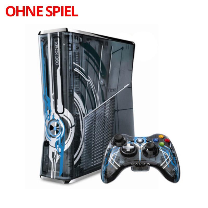 Konsole Slim 320GB #Halo 4 Edition + Original Controller + Zubehör