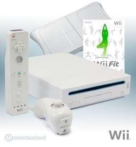 Konsole #weiß + Wii Fit + Original Balance Board + Original Remote + Zubehör