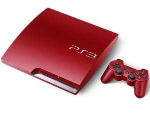 Konsole Slim 320GB #rot + Original Controller + Zubehör
